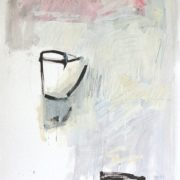 THE ART OF LIFE-STILL LIFE_ no I_ 94x65cm_mixed media on paper_ framed 112x86cm_private collection