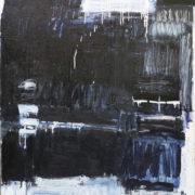 SYLVIA McEWAN_BLUE ABSTRACT no1_2015_150x120cm_oil on canvas