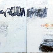SYLVIA McEWAN_MAKING A MARK #3_(diptych)_120x240cm_oil on canvas