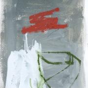 SYLVIA McEWAN_GREY STILL LIFE_#1_39x30cm_mixed media on paper