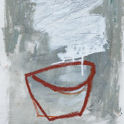SYLVIA McEWAN_GREY STILL LIFE_#3_39x30cm_mixed media on paper