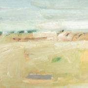 SYLVIA McEWAN_WHEAT FIELDS No 2_50x70cm_oil on canvas_SOLD