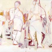 SYLVIA McEWAN_THREE GRACES Series 11_diptych_120x180cm_oil on canvas_SOLD_jpg
