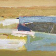 SYLVIA McEWAN_LANDSCAPE Sketch No 6_50x70cm_oil on canvas