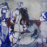 SYLVIA McEWAN_FIGURES No 7_42x59cm_mixed media on paper