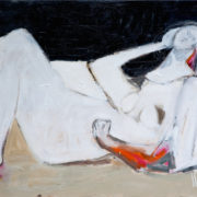 SYLVIA McEWAN_BATHERS No 1_92x122cm_oil on canvas