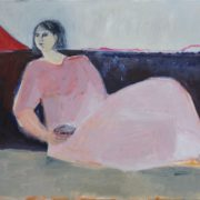 SYLVIA McEWAN_SEATED FIGURE_commissioned by the Allity group 2016_oil on canvas_SOLD