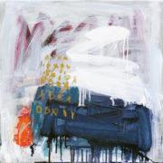 SYLVIA McEWAN_HARMONIES no9_46cmx46cm_oil on canvas