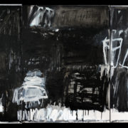 SYLVIA McEWAN_BLACK AND WHITE (triptych)_122x276cm_oil on linen