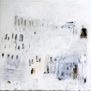 SYLVIA McEWAN_MAKING A MARK White_102x102cm_oil on linen