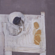 SYLVIA McEWAN_STILL LIFE AGAIN Series II_120x120cm_oil on canvas