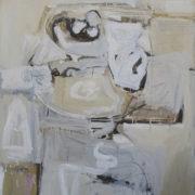SYLVIA McEWAN_STILL LIFE WITH BLACK ROSE_Series 1_oil on canvas_122X92cm