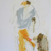 SYLVIA McEWAN_MODERN MUSE_Sketch book III #4_29x19cm_pastel and graphite on paper_N/A