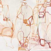 SYLVIA McEWAN_THE THREE GRACES_(diptych)_oil on linen_122x184cm