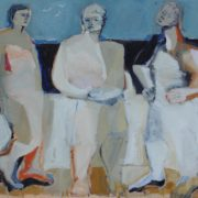 SYLVIA McEWAN _THREE FIGURES_ commissioned by Allity group 2016_on canvas_SOLD