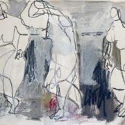 SYLVIA McEWAN_JOIE DE VIVRE_Suite 1_42x60cm_mixed media on paper