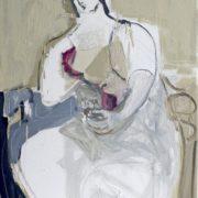 SYLVIA McEWAN_SEATED FIGURE V_91x61cm_oil on canvas