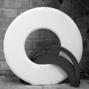 SYLVIA McEWAN_ETERNITY_marble and steel_1988