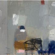 SYLVIA McEWAN_Making a Mark_ Grey_ (triptych)_122x276cm_oil on linen