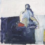SYLVIA McEWAN_MODERN MUSE No 5_50x50cm_oil on canvas_ SOLD