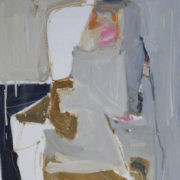 SYLVIA McEWAN_SEATED FIGURE 11_91x61cm_oil on canvas_SOLD