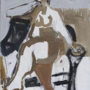 SYLVIA McEWAN_SEATED FIGURE V1_91x61cm_oil on canvas_N/A