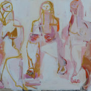 SYLVIA McEWAN_THREE GRACES_Series IV_oil on canvas_122x152cm_N/A