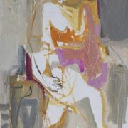 SYLVIA McEWAN_SEATED FIGURE 111_91x61cm_oil on canvas_SOLD