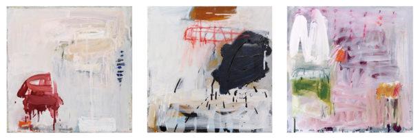 HARMONIES no5, 6 7_45cmx45cm_oil on canvas