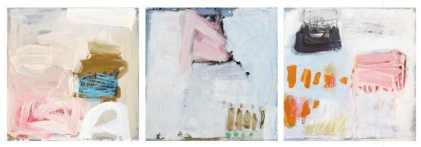 HARMONIES no1 no2 no3_45x45cm_oil on canvas
