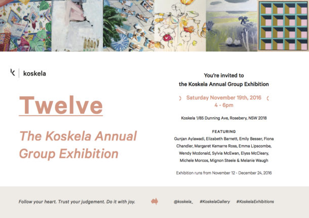 TWELVE_THE KOSKELA ANNUAL GROUP EXHIBITION