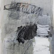 SYLVIA McEWAN_ABSTRACT no17_60x42cm_mixed media on paper