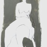 SYLVIA McEWAN_FIGURE no 2_60x42cm_mixed media on paper