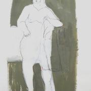 SYLVIA McEWAN_FIGURE no4_60x42cm_mixed media on paper